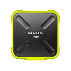 A-Data SSD SD700, 512GB, USB 3.2 - rýchlosť 440/430 MB/s (ASD700-512GU31-CYL), Yellow ASD700-512GU31-CYL