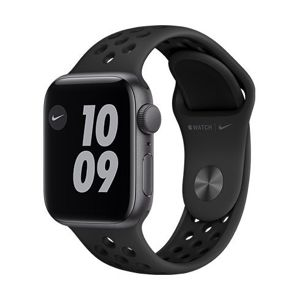 Apple Watch Nike SE GPS, 44mm Space Gray Aluminium Case with Anthracite/Black Nike Sport Band - Regular MYYK2VR/A