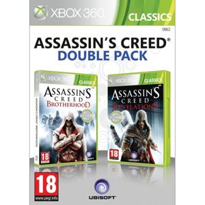 Assassin's Creed: Brotherhood + Assassin's Creed: Revelations (Double Pack) XBOX 360