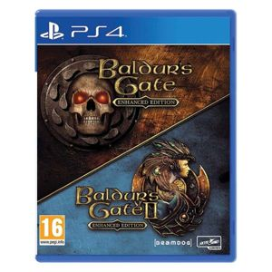 Baldurs's Gate (Enhanced Edition) + Baldurs's Gate 2 (Enhanced Edition) PS4