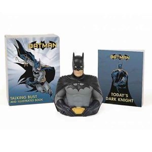 Batman: Talking Bust and Illustrated Book (Miniature Editions) RP458622
