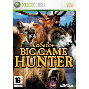 Cabela's Big Game Hunter XBOX 360