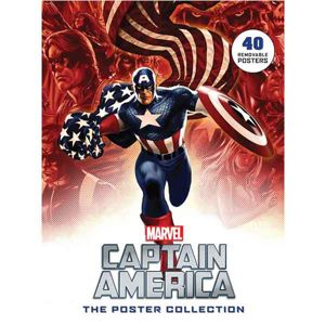 Captain America: The Poster Collection - 40 Removable Posters komiks