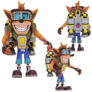Crash Bandicoot Deluxe Action Figure Crash with Jetpack 14 cm NECA41053