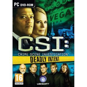 CSI Crime Scene Investigation: Deadly Intent PC