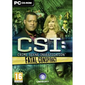 CSI Crime Scene Investigation: Fatal Conspiracy PC