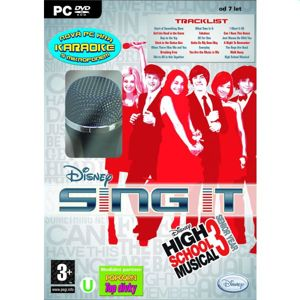 Disney Sing it! High School Musical 3: Senior Year + mikrofón PC