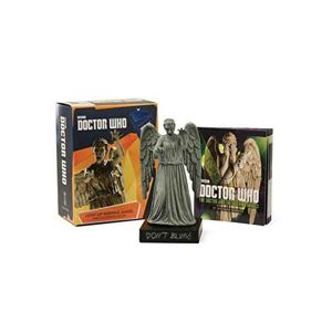 Doctor Who: Light-Up Weeping Angel and Illustrated Book (Miniature Editions) RP454617