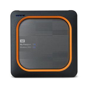 Western Digital SSD My Passport Wireless, 1TB, USB 3.0 (WDBAMJ0010BGY-EESN) WDBAMJ0010BGY-EESN