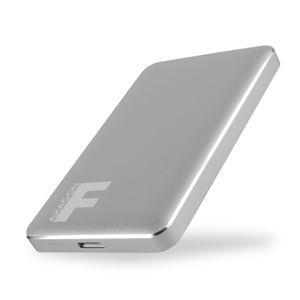Externý box Axagon EE25-F6G USB 3.0 Fullmetal Box, grey EE25-F6G