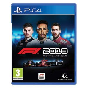 F1 2018: The Official Videogame  PS4