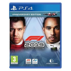 F1 2019: The Official Videogame (Anniversary Edition) PS4