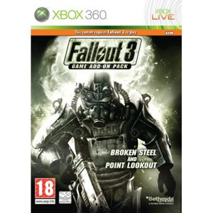 Fallout 3 Game Add-on Pack: Broken Steel and Point Lookout XBOX 360
