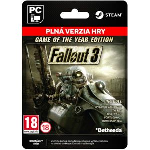 Fallout 3 (Game of the Year Edition) [Steam]