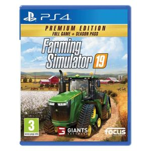 Farming Simulator 19 CZ (Premium Edition) PS4