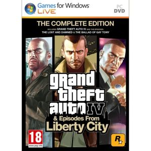 Grand Theft Auto 4 & Episodes from Liberty City (The Complete Edition) PC