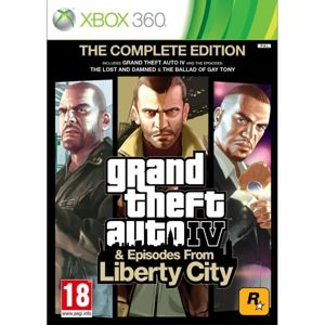 Grand Theft Auto 4 & Episodes from Liberty City (The Complete Edition) XBOX 360