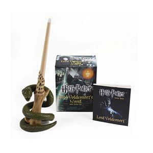 Harry Potter Voldemort's Wand with Sticker Kit: Lights Up! (Miniature Editions) RP452415