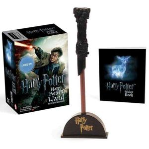 Harry Potter Wizard's Wand with Sticker Book: Lights Up! (Miniature Editions) RP459377