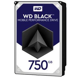 HDD 2,5'' 750GB WD7500BPKX Black SATAIII 7,2k 16MB WD7500BPKX