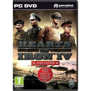 Hearts of Iron 4 (Hero Edition) PC  CD-key