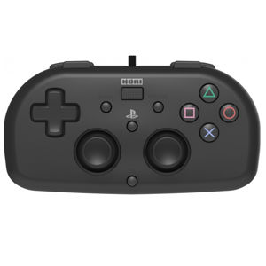 HORI HoriPad Mini Wired Controller for Playstation 4, black