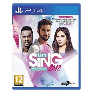 Let's Sing 2018 (Hits Francais et Internationaux) PS4