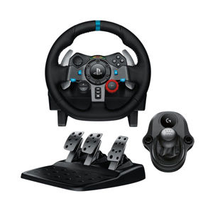 Logitech G29 Driving Force Racing Wheel + Logitech Driving Force Shifter