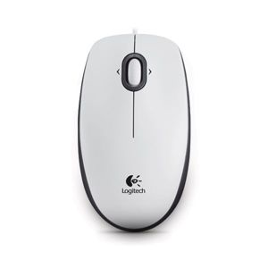Logitech Optical USB Mouse M100, white 910-005004