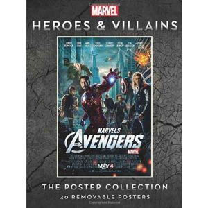 Marvel Heroes and Villains: The Poster Collection komiks
