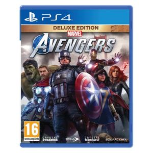 Marvel's Avengers CZ (Deluxe Edition) PS4