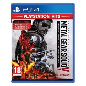 Metal Gear Solid 5: Ground Zeroes + Metal Gear Solid 5: The Phantom Pain (The Definitive Experience) PS4