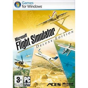 Microsoft Flight Simulator X (Deluxe Edition) PC