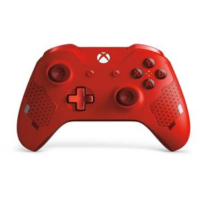 Microsoft Xbox One S Wireless Controller, sport red (Special Edition) WL3-00126