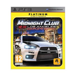 Midnight Club: Los Angeles (Complete Edition) PS3
