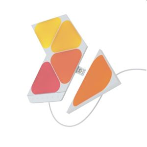 Modulárne smart osvetlenie Nanoleaf Shapes Triangels Mini Starter Kit, 5 panelov NL48-5002TW-5PK