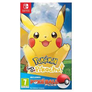 Pokémon: Let's Go, Pikachu! + Nintendo Switch Pokéball Plus NSW