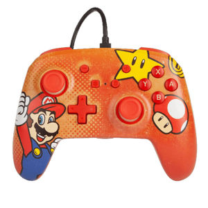 PowerA Enhanced Wired Controller - Mario Vintage for Nintendo Switch