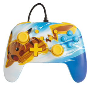 PowerA Enhanced Wired Controller - Pikachu Charge for Nintendo Switch