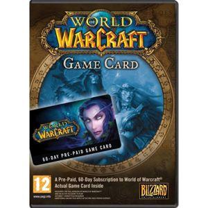 Predplatená 60 dňová karta World of Warcraft PC  CD-key