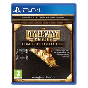 Railway Empire (Complete Collection) PS4