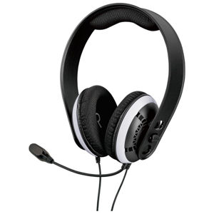 Raptor Gaming H200 Headset for PS4, PS5, black