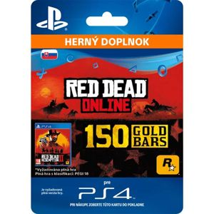 Red Dead Redemption 2 (CZ 150 Gold Bars)