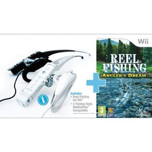 Reel Fishing: Angler's Dream + udice Wii