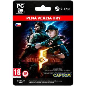 Resident Evil 5 CZ [Steam]