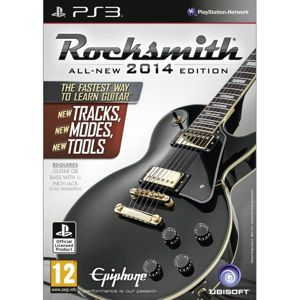 Rocksmith (All-New 2014 Edition) + Real Tone Cable PS3