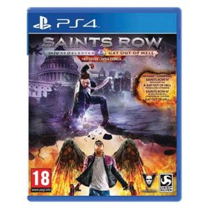 Saints Row 4: Re-Elected + Gat out of Hell (First Edition) PS4