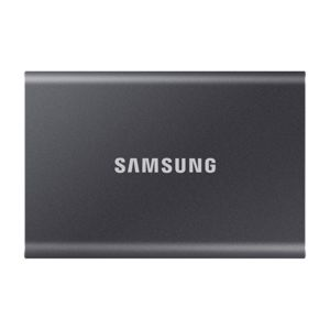 Samsung SSD T7, 500GB, USB 3.2 - rýchlosť 1050/1000 MB/s (MU-PC500T/WW), Gray MU-PC500T/WW