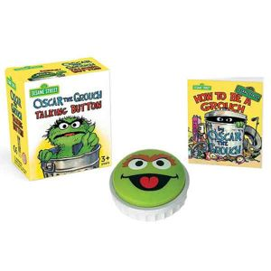 Sesame Street: Oscar the Grouch Talking Button (Miniature Editions) RP462407