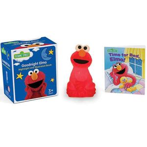 Sesame Street: The Goodnight Elmo Nightlight and Illustrated Book (Miniature Editions) RP461387